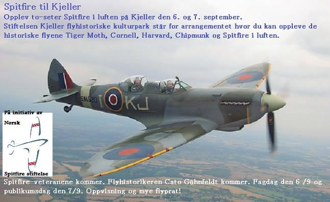 Spitfire til Kjeller
