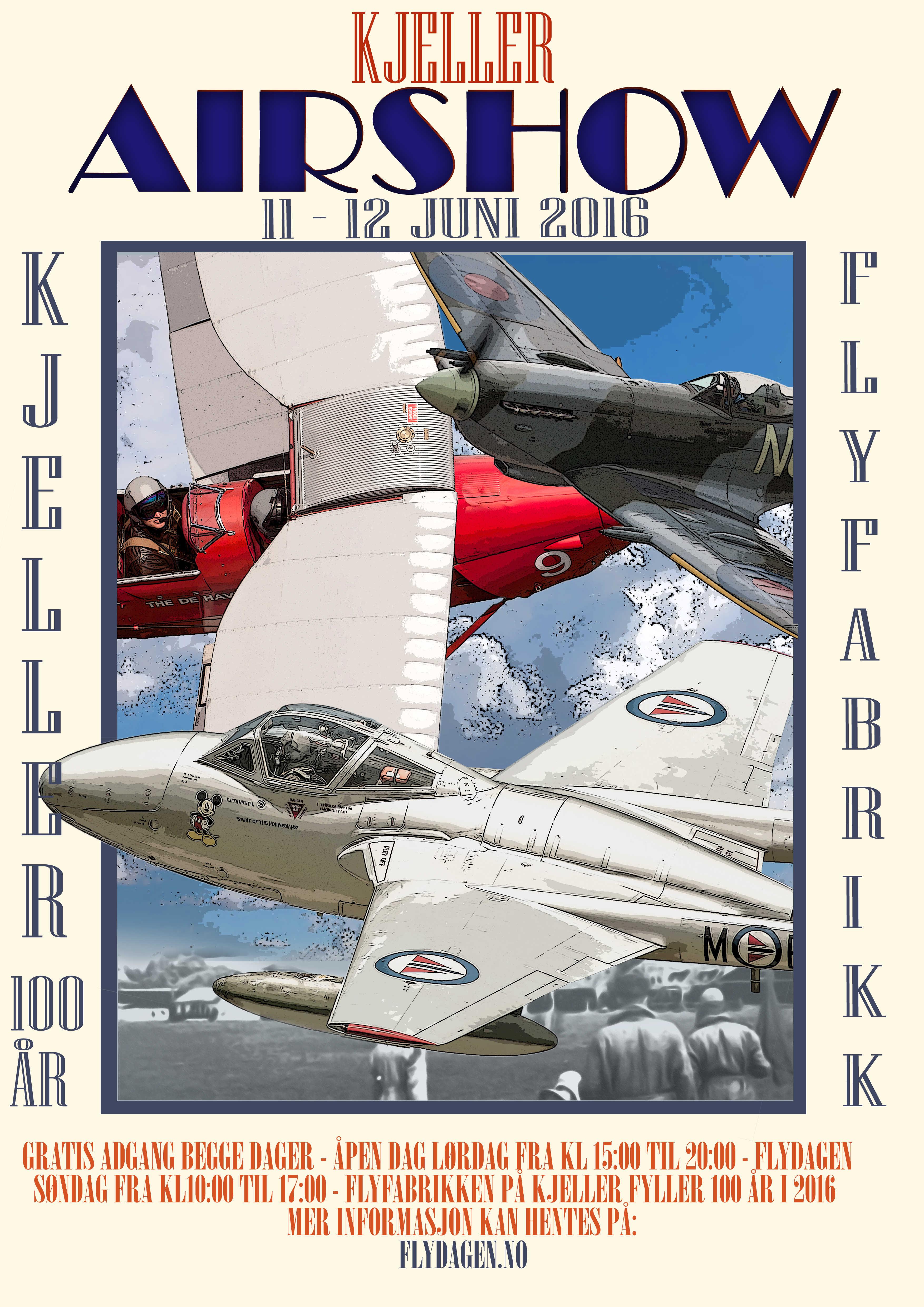 Plakat flydagen 2016