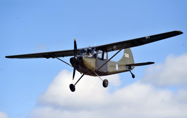 Nytt fly i klubben, Cessna Birddog