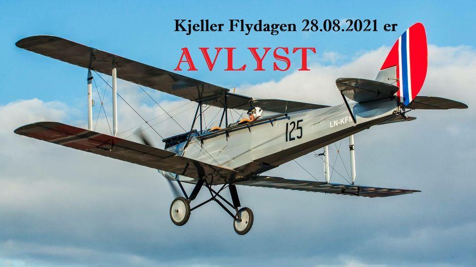 Flydagen 2021 er avlyst